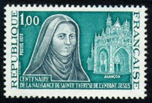 Centenaire de la naissance de St Thérèse de l'Enfant Jésus