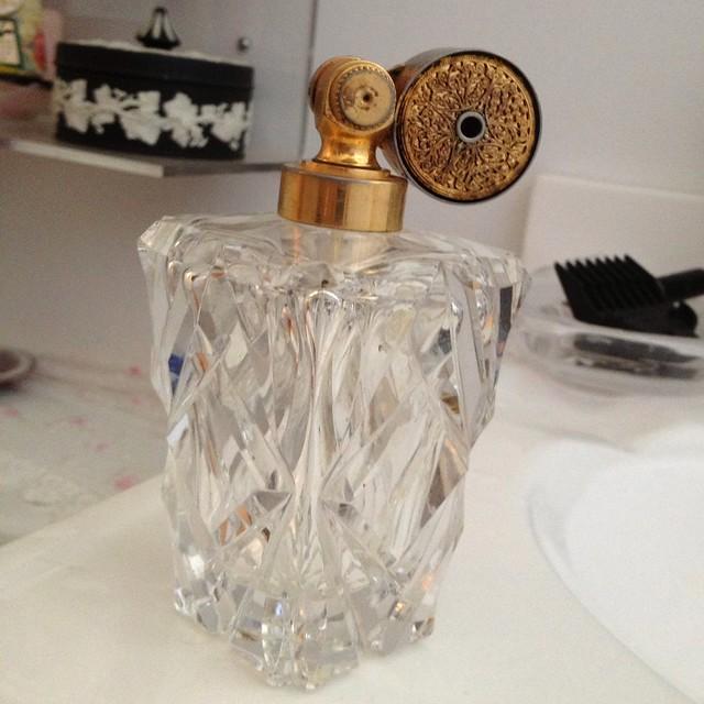 squeaky clean perfume bottle