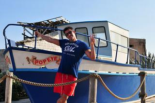 Barco de Popeye en el pueblo sweethaven village - 9394512474 c11b2c9bc6 n - Sweethaven Village, el pequeño pueblo maltés donde vive Popeye