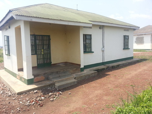 One of the inaccessible government buildings Peace Fellow Rebecca Scherpelz highlighted in her 2011 blog
