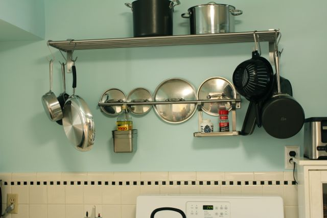 Ikea Grundtal Magnetic Spice Containers ~ IKEA Grundtal Pot Rack  Explore smithsoccasional's photos o