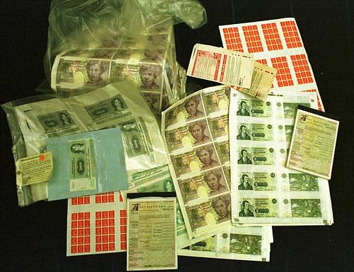 Thomas McAnea counterfeits