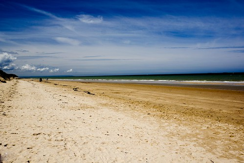 Utah beach from life of J.D. Salinger