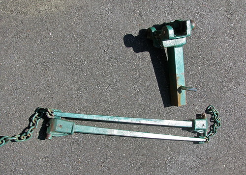 Vintage trailer hitch