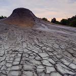 烏山頂泥火山自然保留區。(圖片來源:林務局)