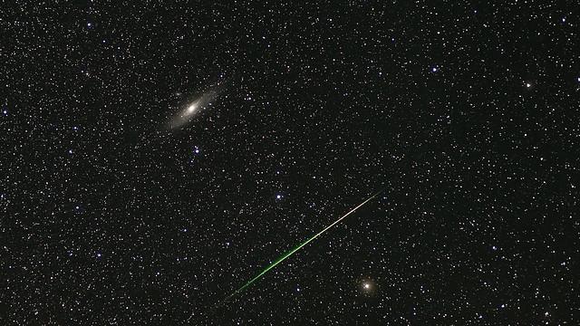 Andromeda & Perseid Meteor Shower