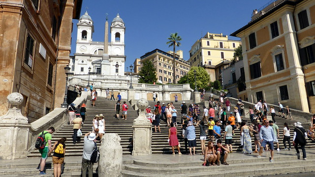 Rome- The Spanish Steps