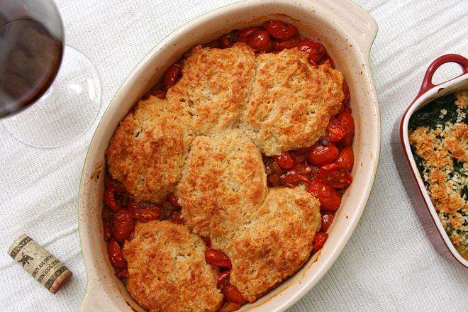 tomato cobbler 8