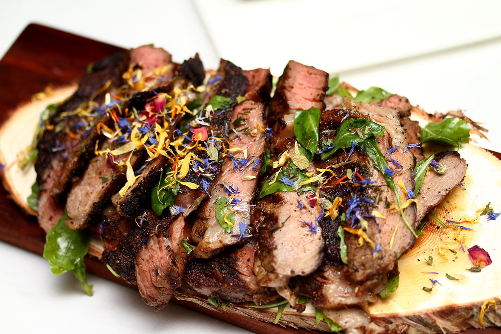 The Lighthouse: Grilled Texan Rib-Eye