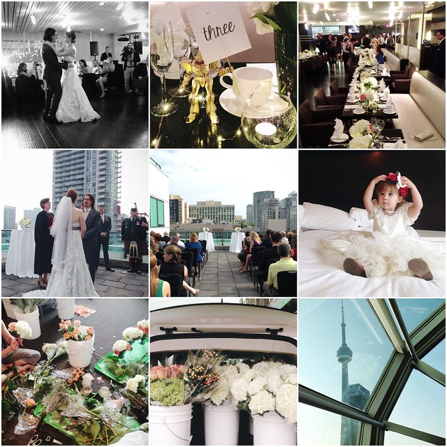 Scenes from Toronto Wedding