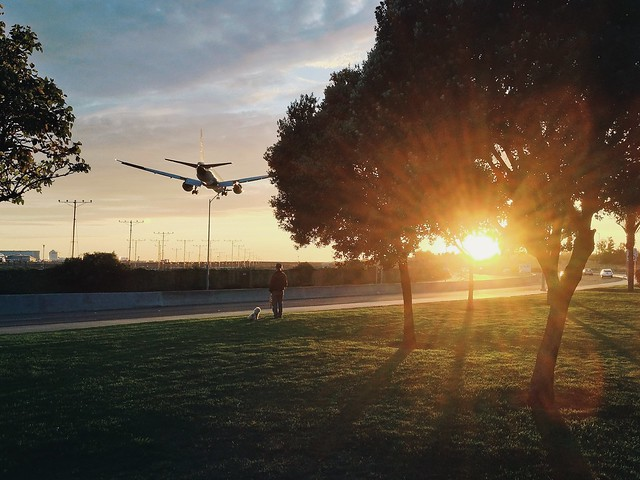 landing and sunset 1.
