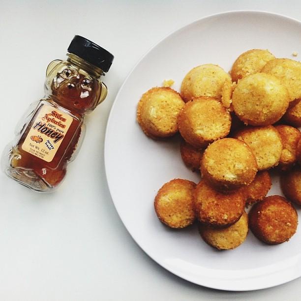 Honeyed Corn Cakes on Food52