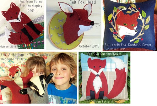 Bustle & Sew Fox Patterns