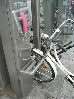 How not to park your bike