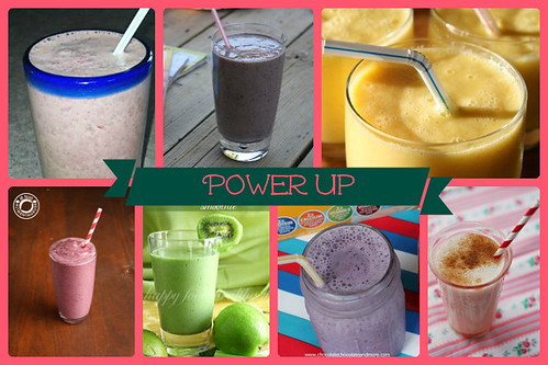 Power Up Smoothie Recipes | cupcakesandkalechips.com | #smoothies #smoothierecipes #smoothie