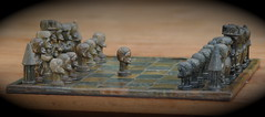 carving, art, chessboard, indoor games and sports, wood, sculpture, miniature, tabletop game, games, chess, board game,
