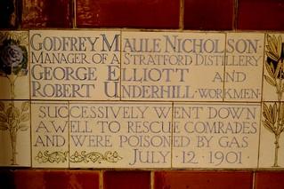 Godfrey Maule Nicholson, George Elliott & Robert Underhill
