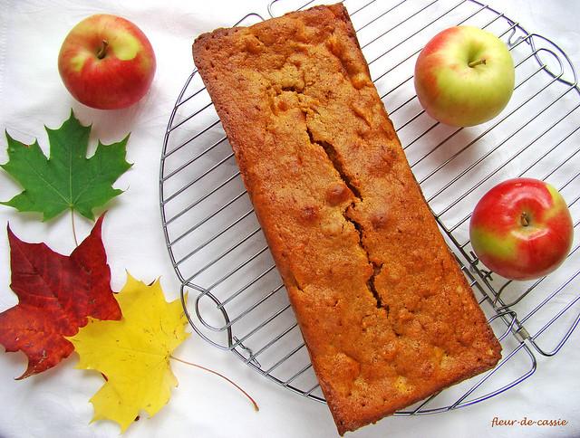 тыквенный кекс с яблоком 1