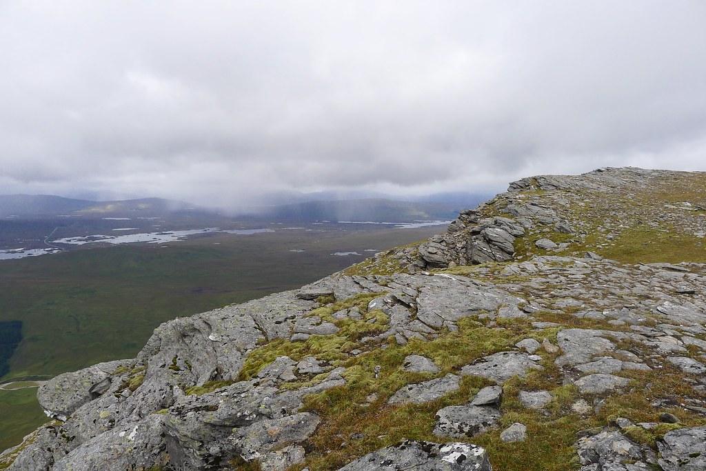 Rannoch Moor from Beinn Achaladair