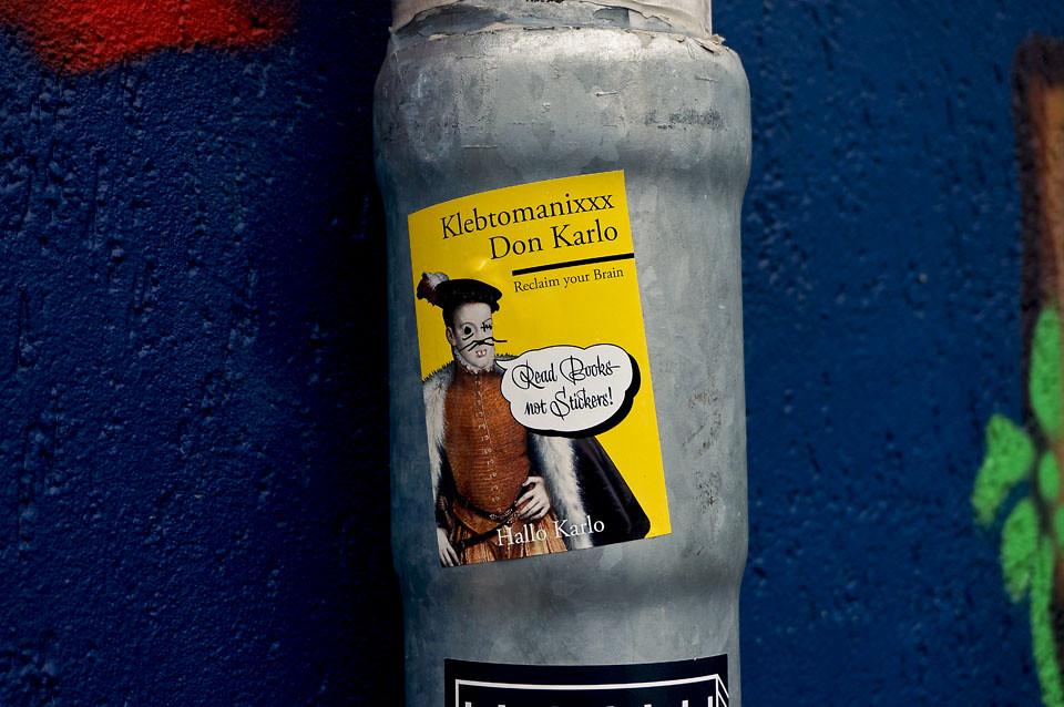Hallo Karlo Street Art Hamburg