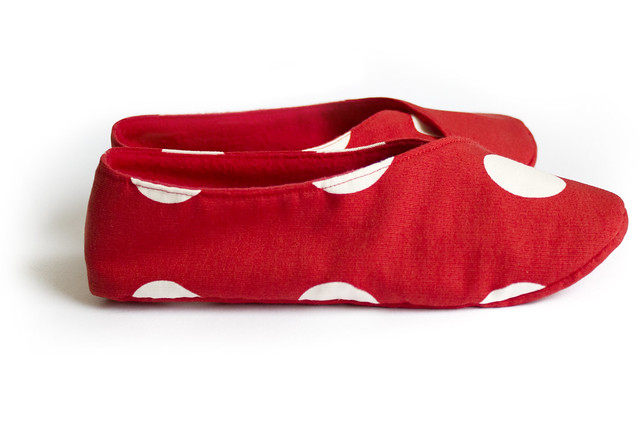 Kimono slippers