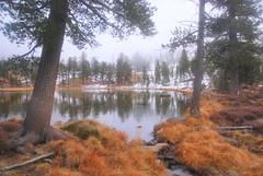 Upper deadfall lakes, California