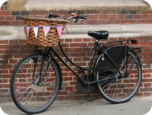 Bicycle Basket Bunting