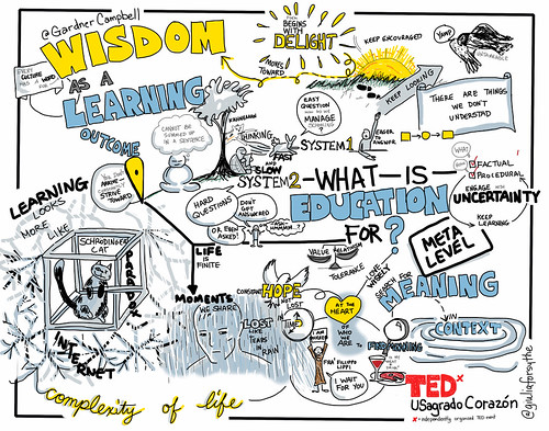 @GardnerCampbell's TEDx Talk: Wisdom as a Learning Outcome