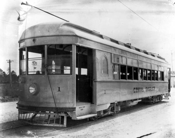 Streetcar in Coral Gables, Florida