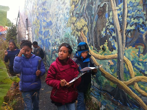 Urban Waters Program at the Wissahickon Charter School