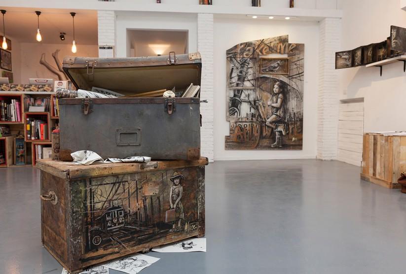 Alice Pasquini - Galleria Varsi - Rome