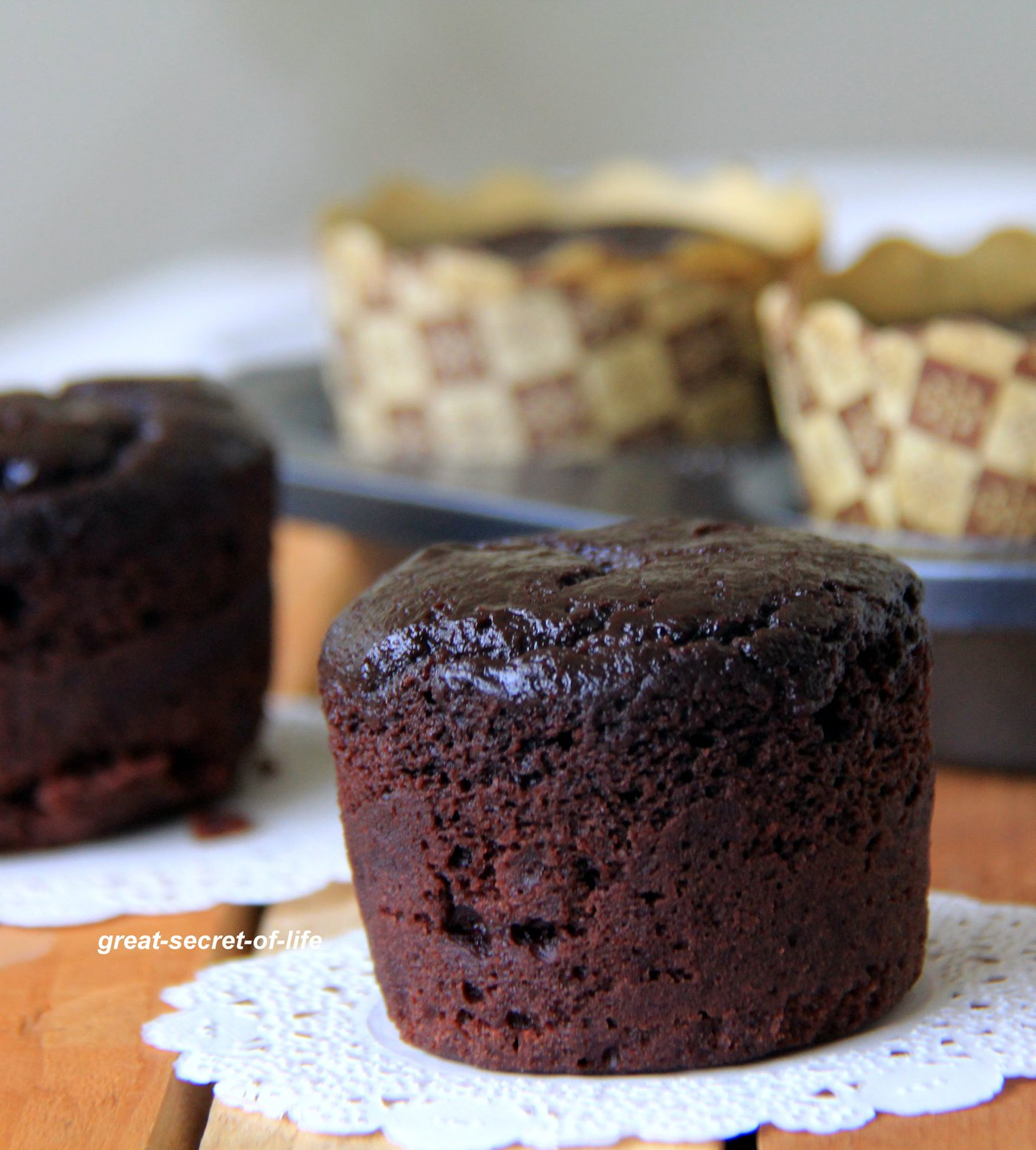 Eggless Chocolate Cupcakes From Cake Mix