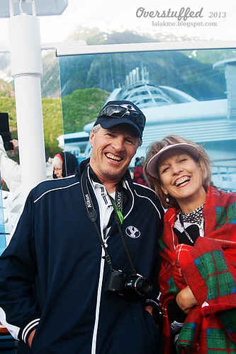 Mom and Dad at Tracy Arm