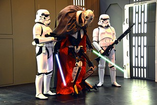 General Grievous and Stormtroopers