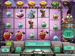 Eggomatic bonus game