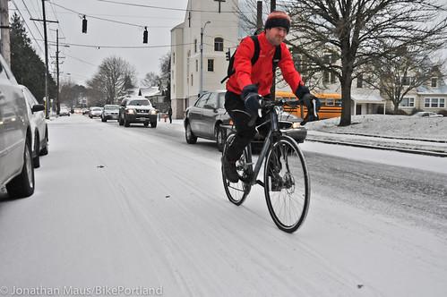 Snow scenes in Portland-9