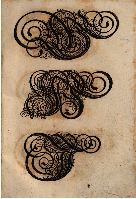 Paulus Franck - 'Schatzkammer Allerhand Versalien Lateinisch vnnd Teutsch', 1601 alphabet f