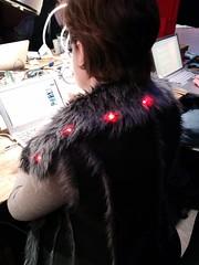 Flora jacket hacking