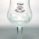 ベルギービール大好き!!【トリプル・カルメリートの専用グラス】(管理人所有 )