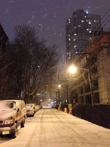 Snowy Jersey City