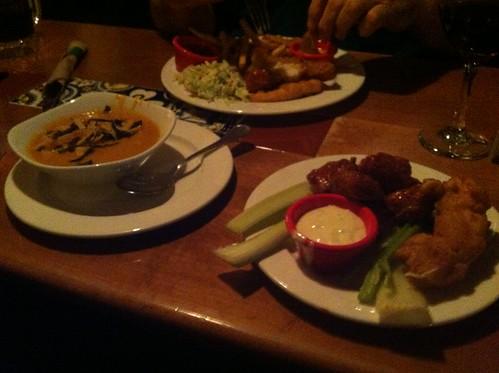 Chicken Enchilada Soup & Boneless Wings by raise my voice