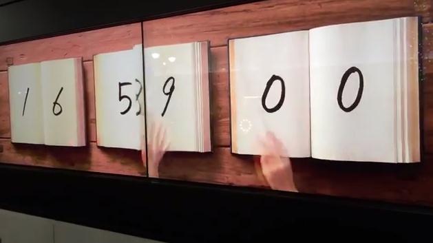 Book Clock: το πιο όμορφο αναλογικό – ψηφιακό ρολόι
