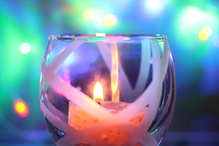 Fairy Lights & Candle Light One