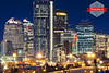 Calgary at Night by Rob Moses