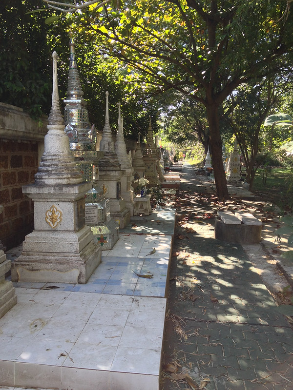 Quiet cemetery