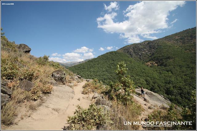 Senda de la ruta a Los Pilones