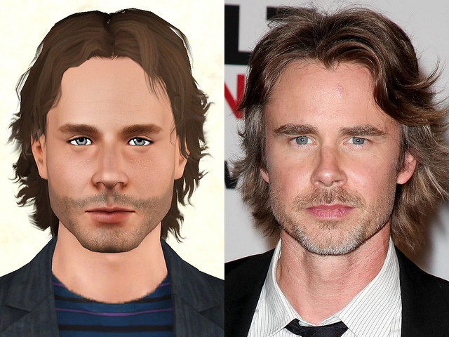 Sam Trammell Comparison