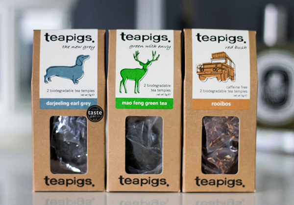 teapigs mix n match darjeeling earl grey, mao feng green tea and rooibos
