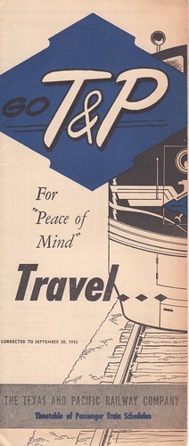 T and P 1956 Cover