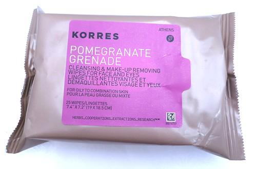 Korres-Pomegrante-Cleansing-Wipes